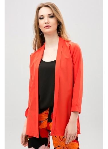 New Laviva Ceket Oranj
